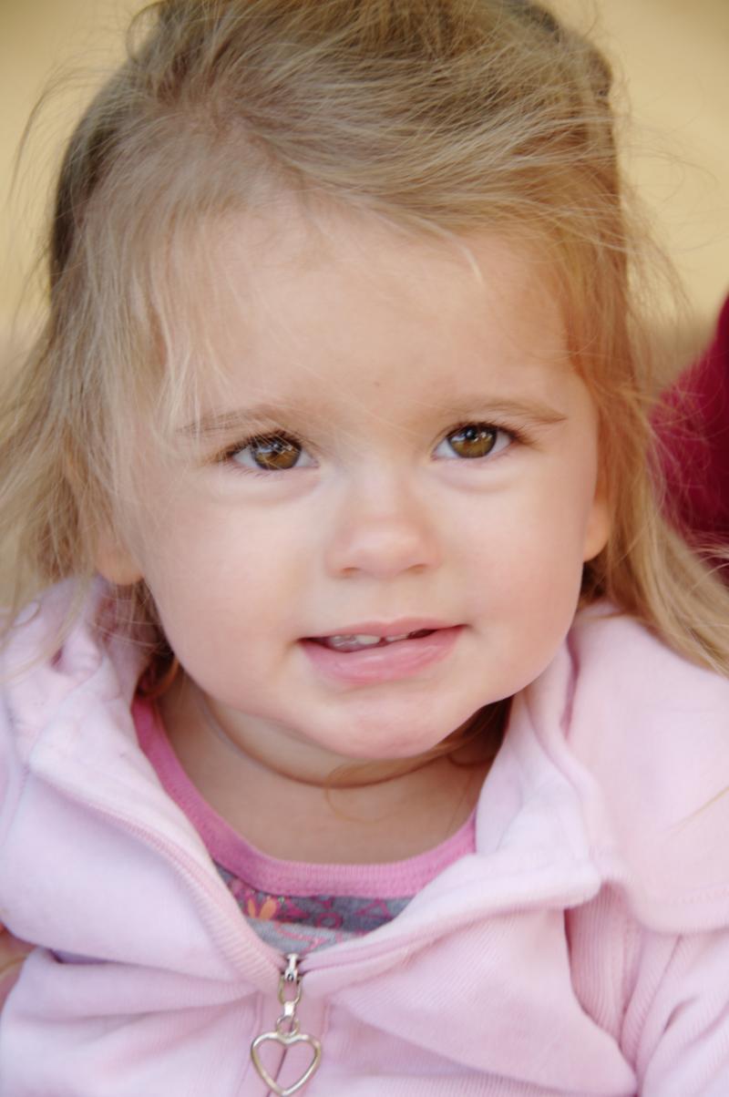 Maddie, Age 2      One of Cheryl's six grandchildren